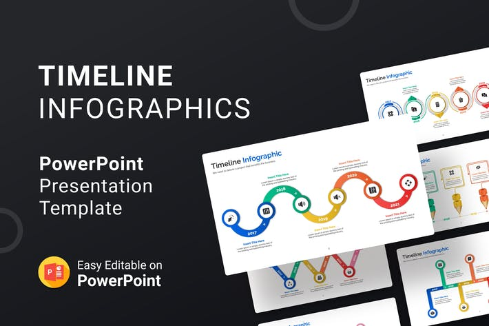 Thumbnail for Timeline Infographics – Presentation Template