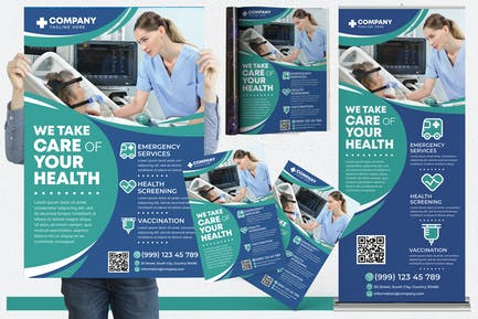 Medical #05 Print Templates Pack