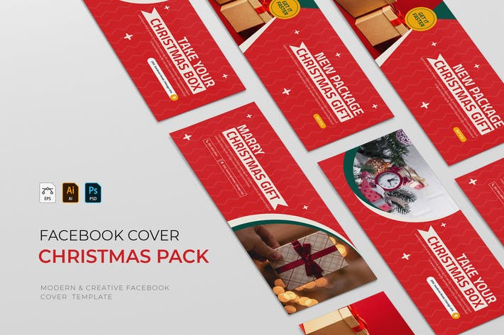 Christmas Package | Facebook Cover