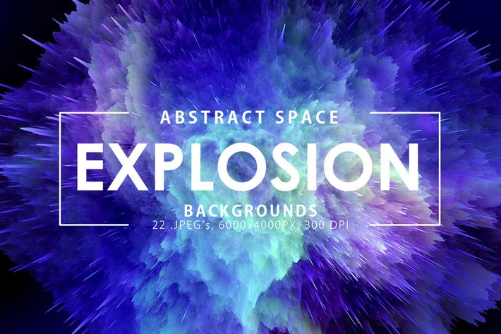 Thumbnail for Space Explosion Backgrounds