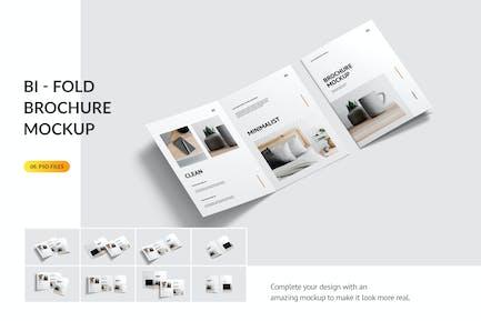 Bifold Brochure Mockup