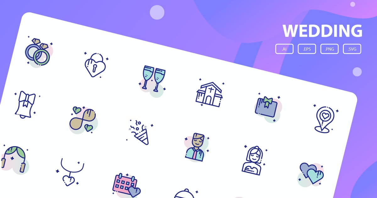 Download Wedding Icon Pack by inspirasign