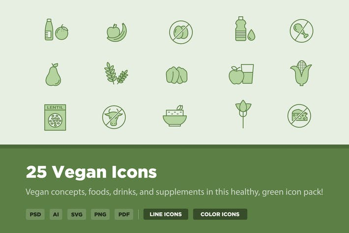 25 Vegan Icons