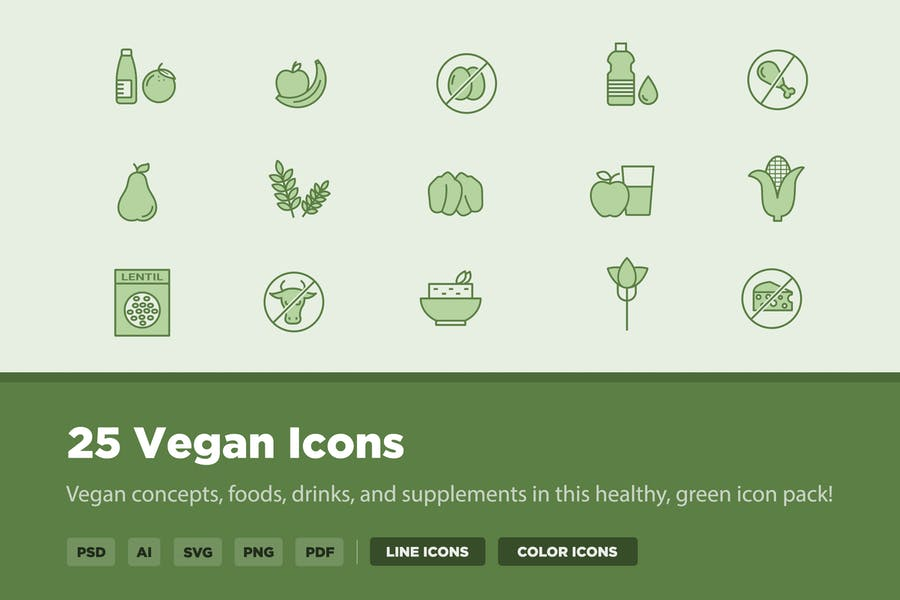 25 Vegan Icons