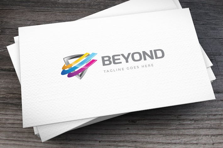 Thumbnail for Go Beyond Logo Template