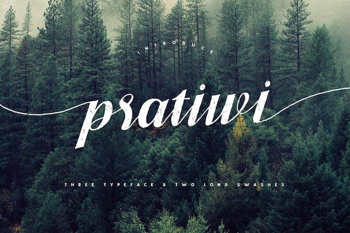 Thumbnail for Pratiwi Typeface