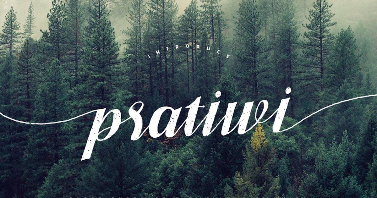 Download Pratiwi Typeface by maulanacreative
