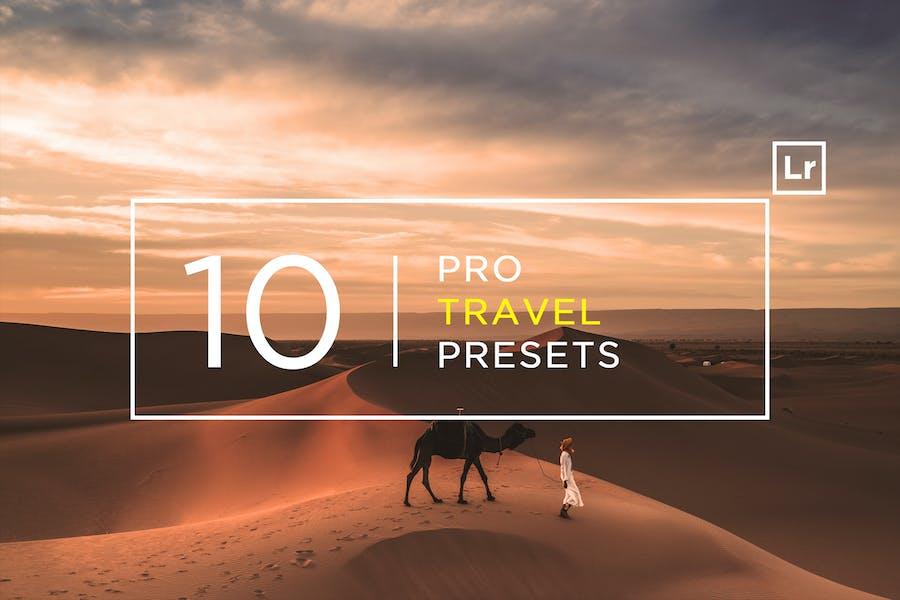 10 Pro Travel Lightroom Presets