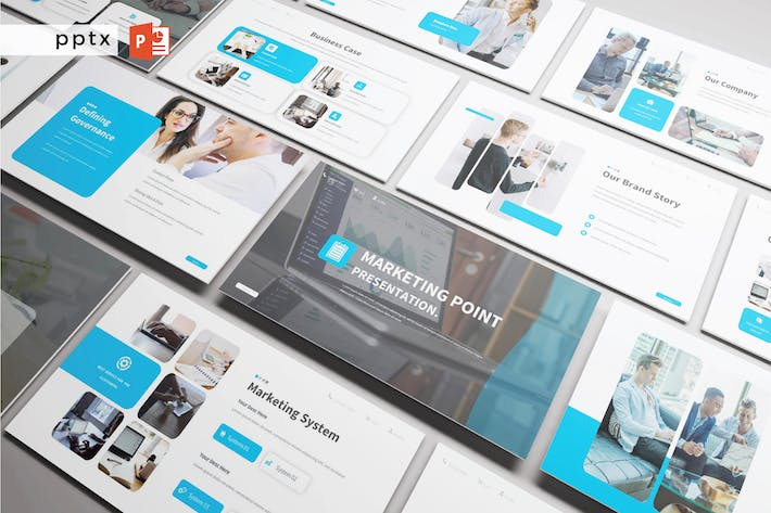 Thumbnail for MARKETING POINT - Powerpoint  V320