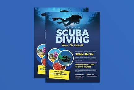 Scuba Diving Flyer