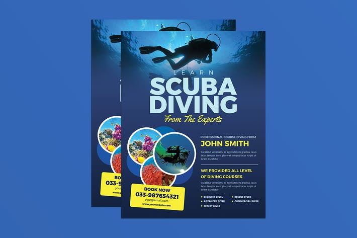 Thumbnail for Scuba Diving Flyer