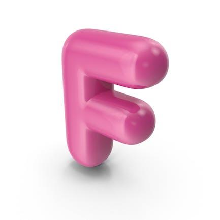 Toon Balloon Letter F