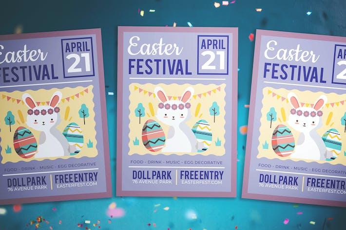 Thumbnail for Easter Kids Festival Flyer