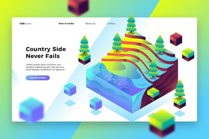 Cover Image For Countryside - Banner & Landing Page
