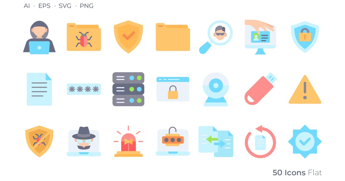 Download Cyber Crimes Color Icon by GoodWare_Std