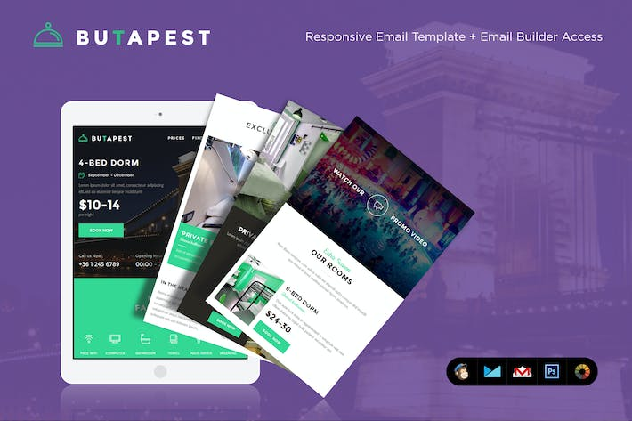 Thumbnail for ButaPest Email Template