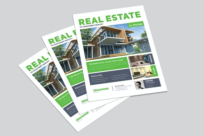 Thumbnail for Minimal Real Estate Flyer