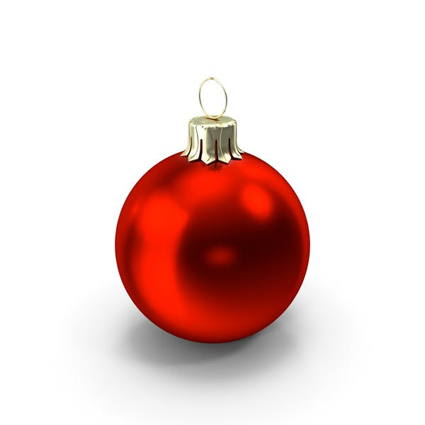 Thumbnail for Standing Red Christmas Ornament