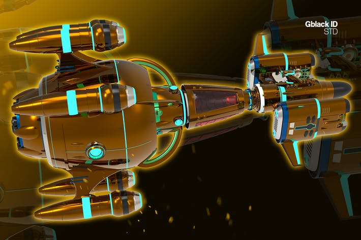 Spaceship Alpha 11