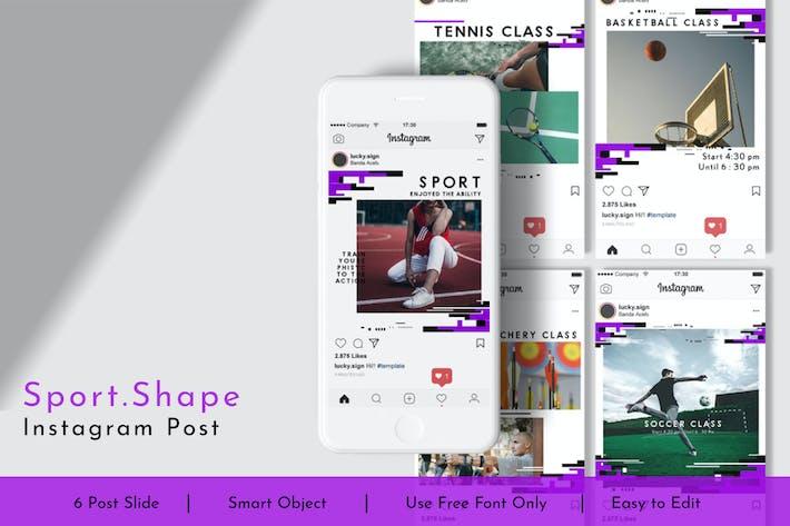 Thumbnail for Sport.Shape Social Media Post Vol.10