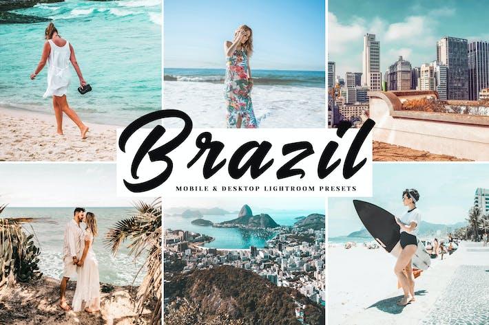 Thumbnail for Brazil Mobile & Desktop Lightroom Presets