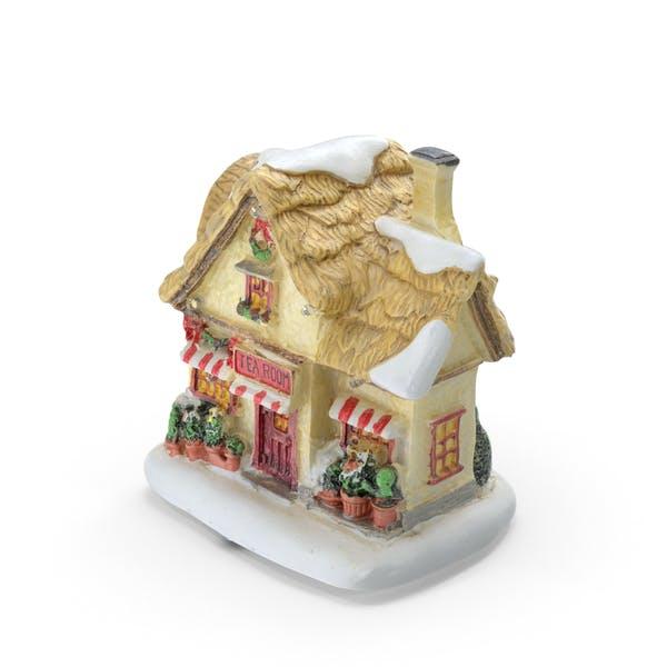 Thumbnail for Christmas Tea House Decoration