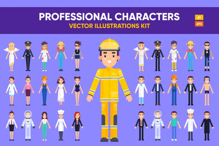 Thumbnail for Professional Characters Kit