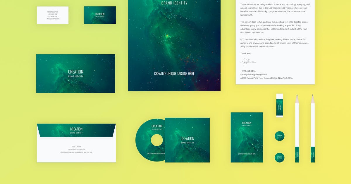 Download Branding Identity Mock Up - Creation by themepassion