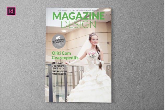 MAGAZINE DESIGN - Magazine Template