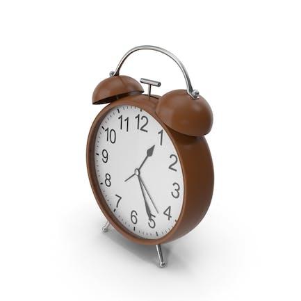 Alarm Clock Brown