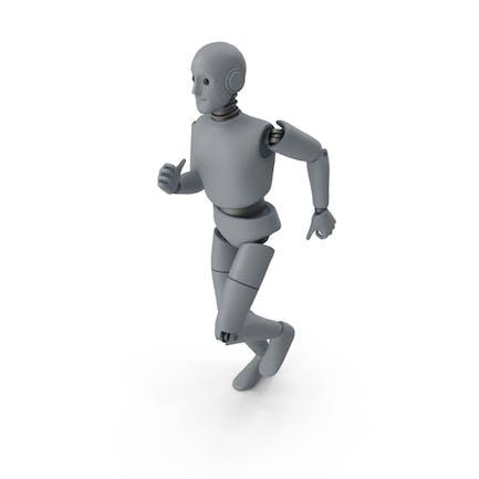 Friendly Robot Sprinting