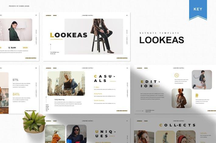 Thumbnail for Lookeas | Keynote Template