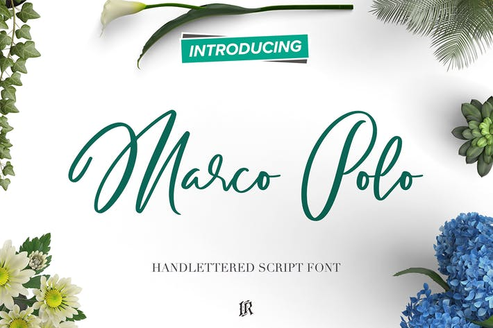 Thumbnail for Marco Polo Script Font