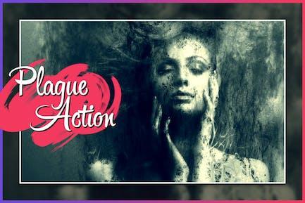 Plague CS4+ Photoshop Action