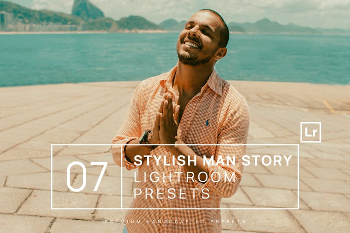 Thumbnail for 7 Stylish Man Story Ajustes preestablecidos de Lightroom + Móvil