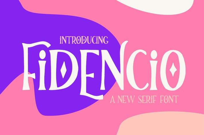 Thumbnail for Fidencio Serif Font