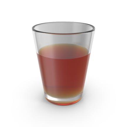 Glastasse mit Cognac