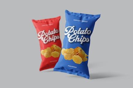 Chips Bag Photoshop Mockup