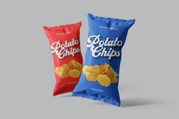Thumbnail for Chips Bag Photoshop Mockup