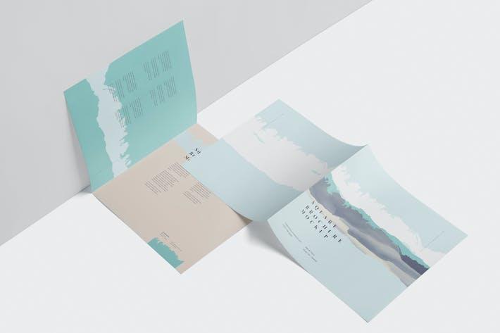 Thumbnail for Quadratisches Bi-Fold Prospekt-Set