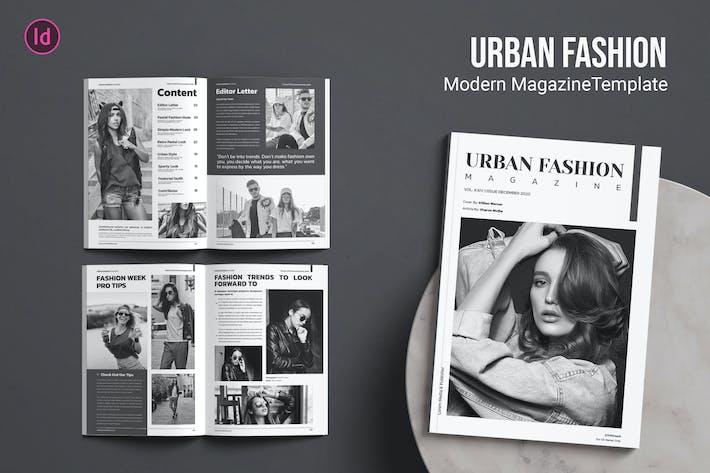 Thumbnail for Urban Fashion — Magazin-Vorlage