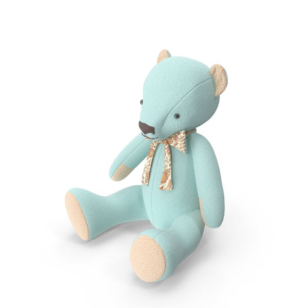 Thumbnail for Blue Teddy Bear