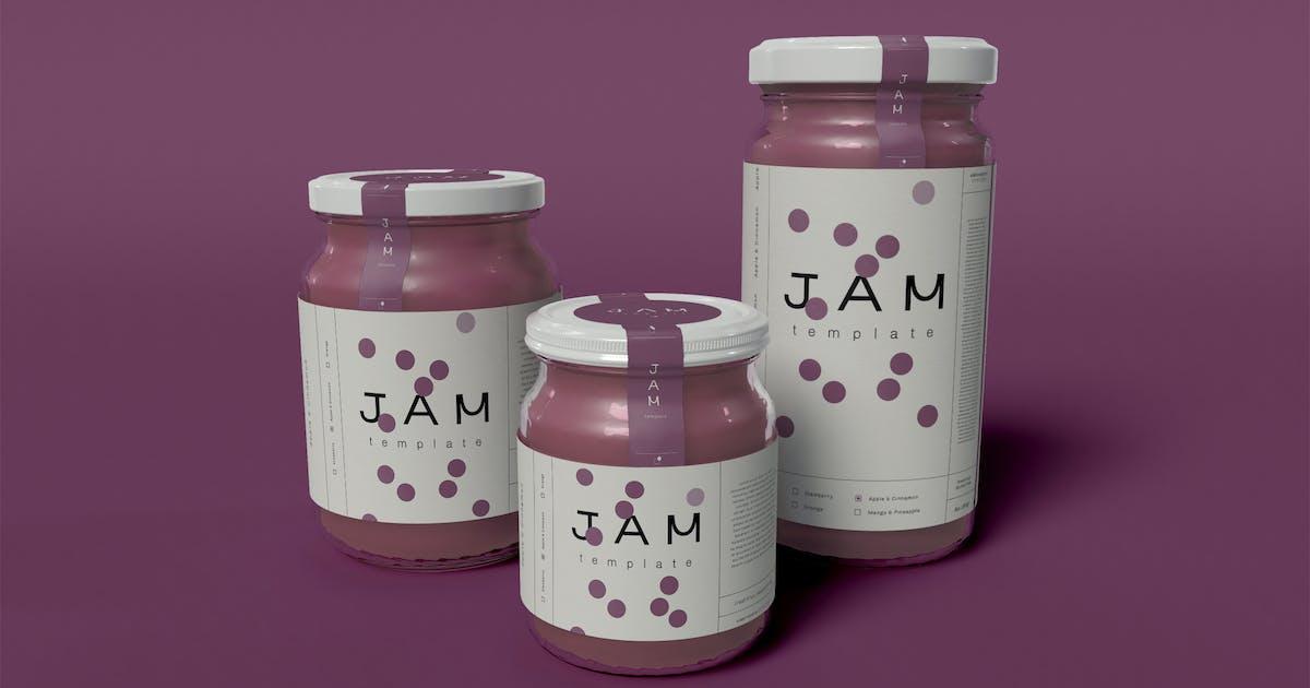 Download Jam Jar Mockup by megostudio