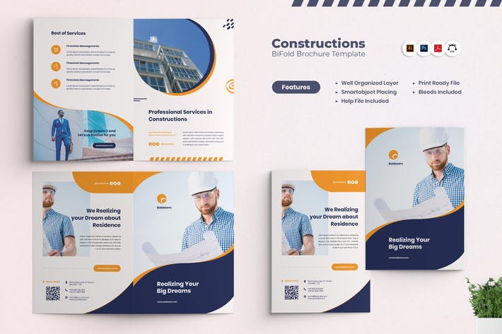 Thumbnail for Constructions BiFold Brochures