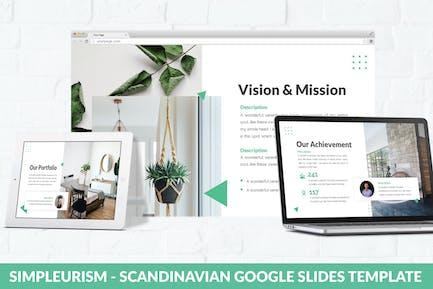 Simpleurism - Scandinavian Google Slides Template