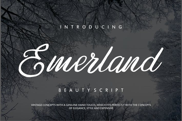 Thumbnail for Emerland | Beauty Script Handwritten