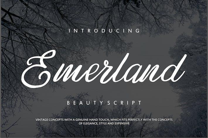 Thumbnail for Emerland | Guión de Belleza Escrito a Mano