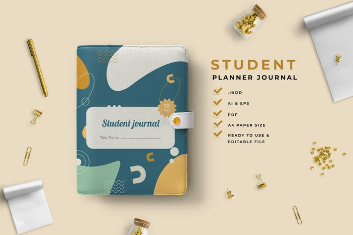 Thumbnail for Tosca – Student Planner Journal