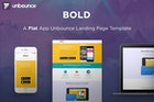 BOLD - App Unbounce Landing Page Template