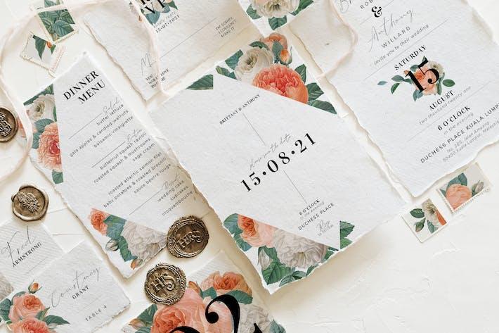 Thumbnail for Blush & White Rose Wedding Suite